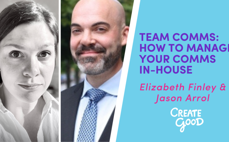 Team Comms: How To Manage Your Comms In-House